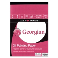 Georgian Oil pad 290gsm - 12 sheets