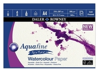 Aquafine Watercolour cold pressed pad 300gsm - 12 sheets