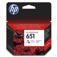 Hp 651 Colour