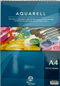 Aquarell basic pad A4 210x297mm 15 sheets