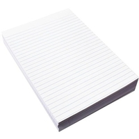A4 Ruled Paper White, Pack of 500